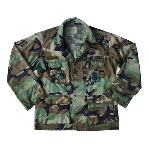 Vintage U.S. Army Air Force Woodland Camo Jacket